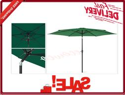 Best Choice Products 10ft Patio Umbrella With Crank Easy Pus