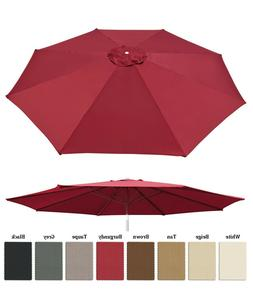 13ft Patio Umbrella Cover Canopy 8 Rib Replacement Top Outdo
