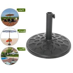 """17"""" Patio Umbrella Base Stand,Universal Holder for 8/9/10"""