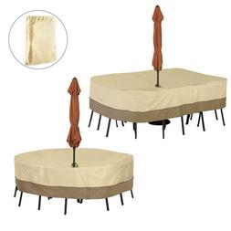 Garden Furniture Cover Patio Table Chairs Protector Slipcove