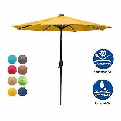 7 ft 24 Umbrella Table with