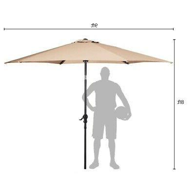 9 Ft Hanging Patio Outdoor Base