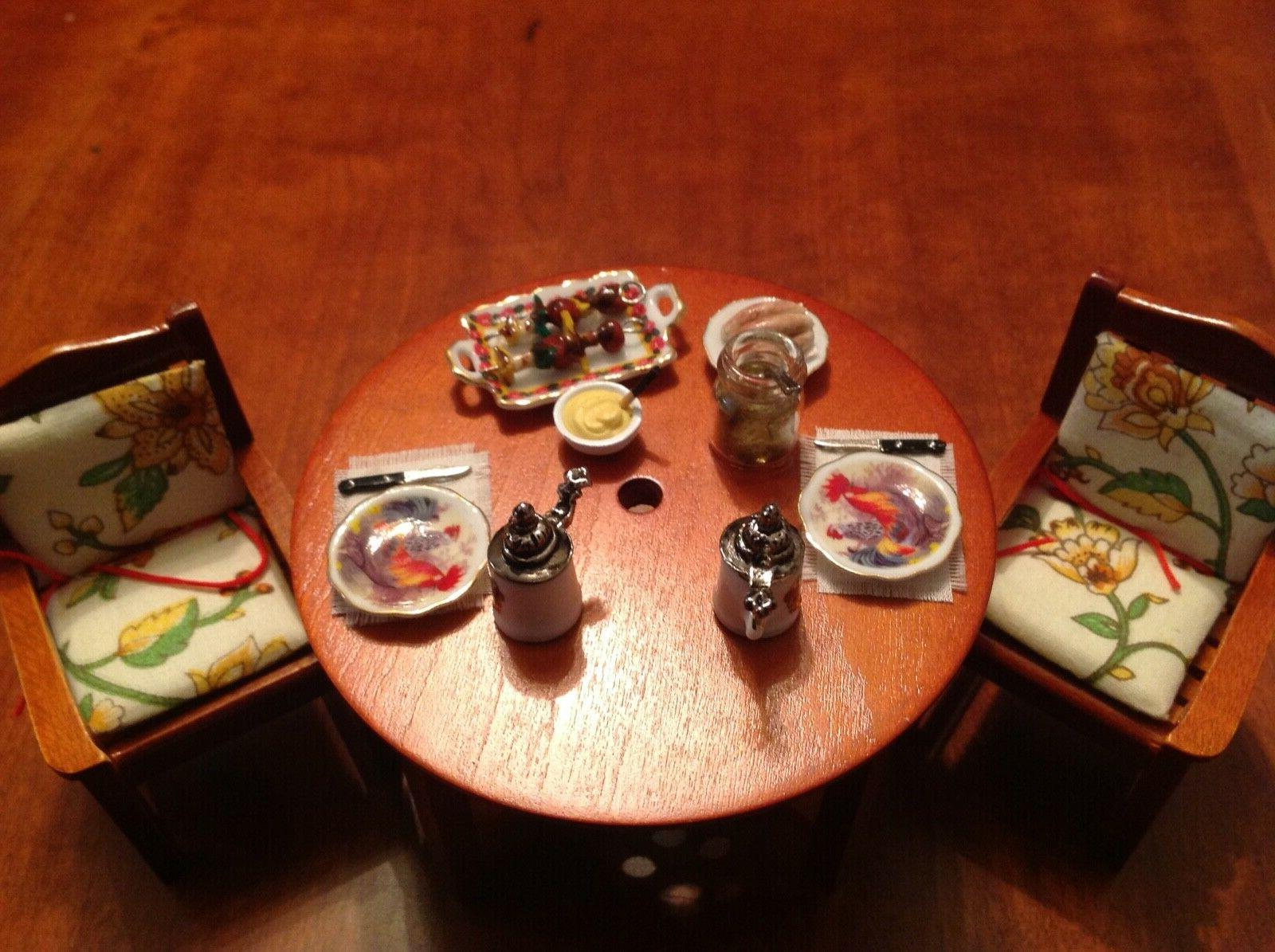 Dollhouse Table with Umbrella Two
