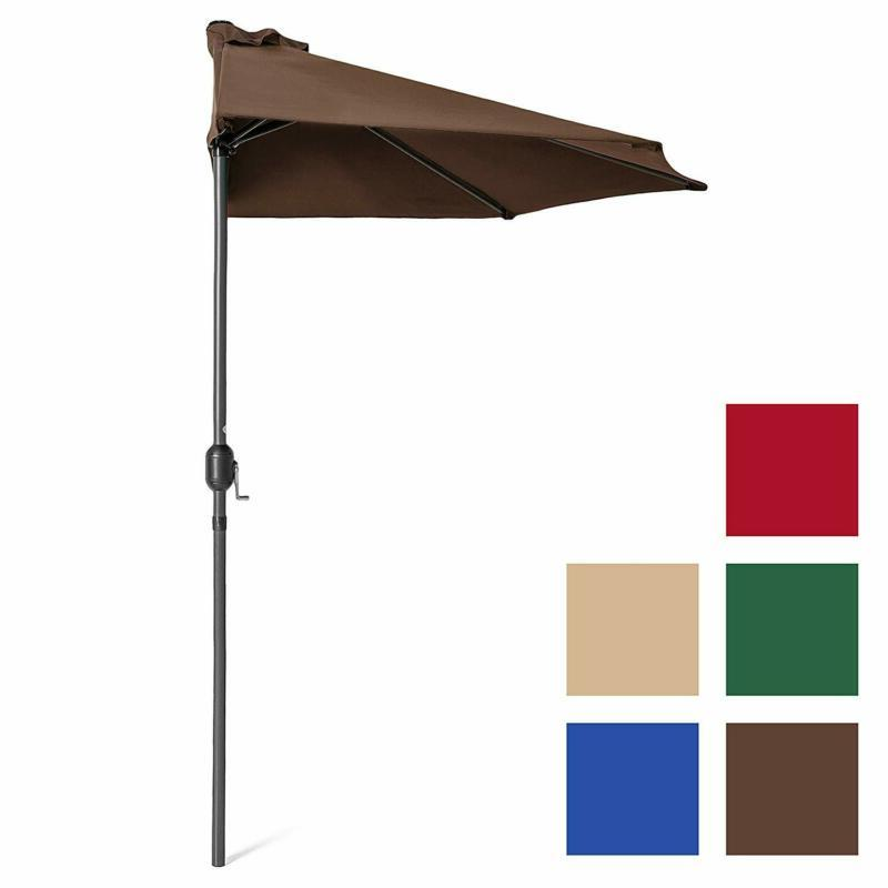 Half Steel with Water and UV Resistant Polyester