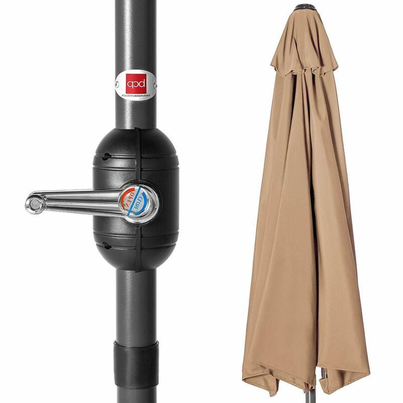 Half Umbrella 9ft Water and UV Polyester