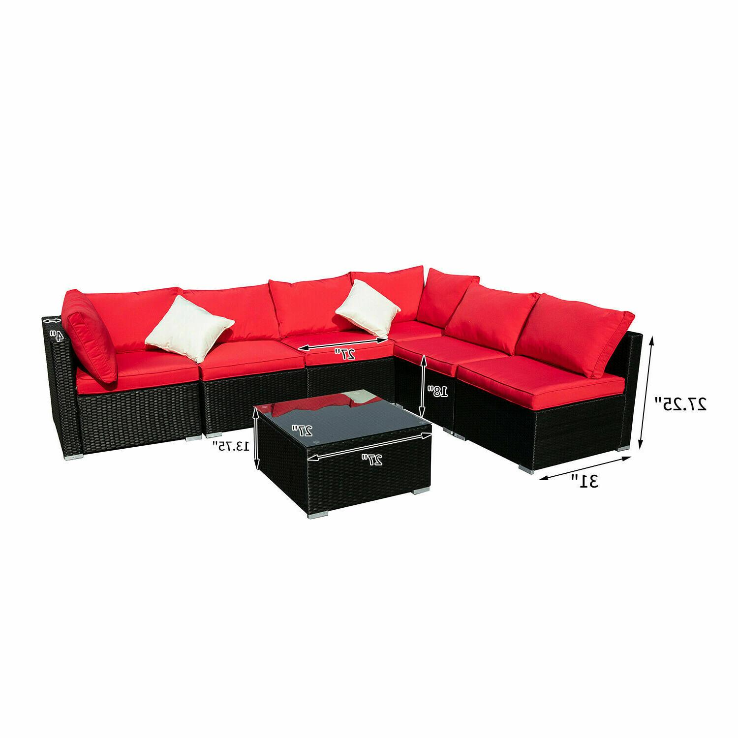 Outdoor Sectional Set Solar