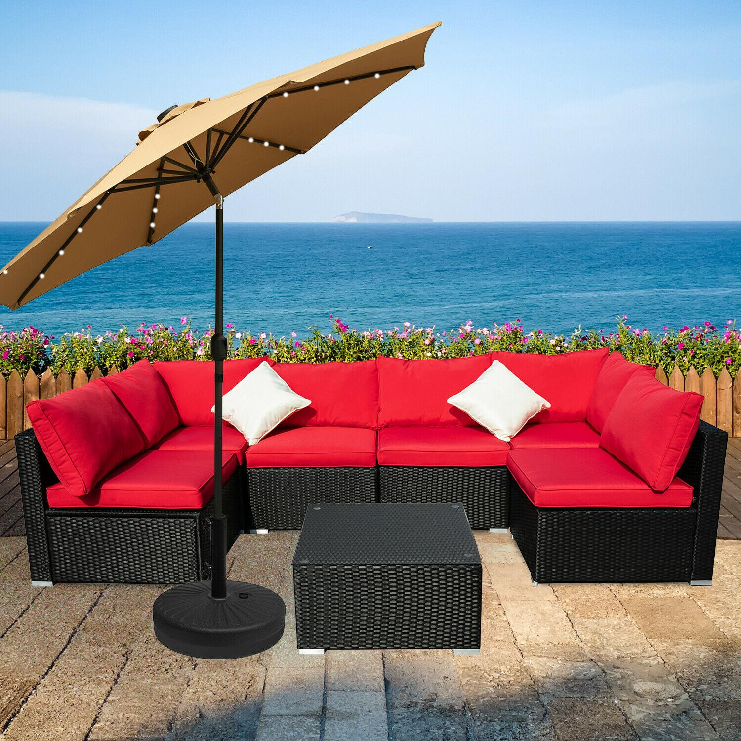 outdoor sectional couch patio antique wicker rattan