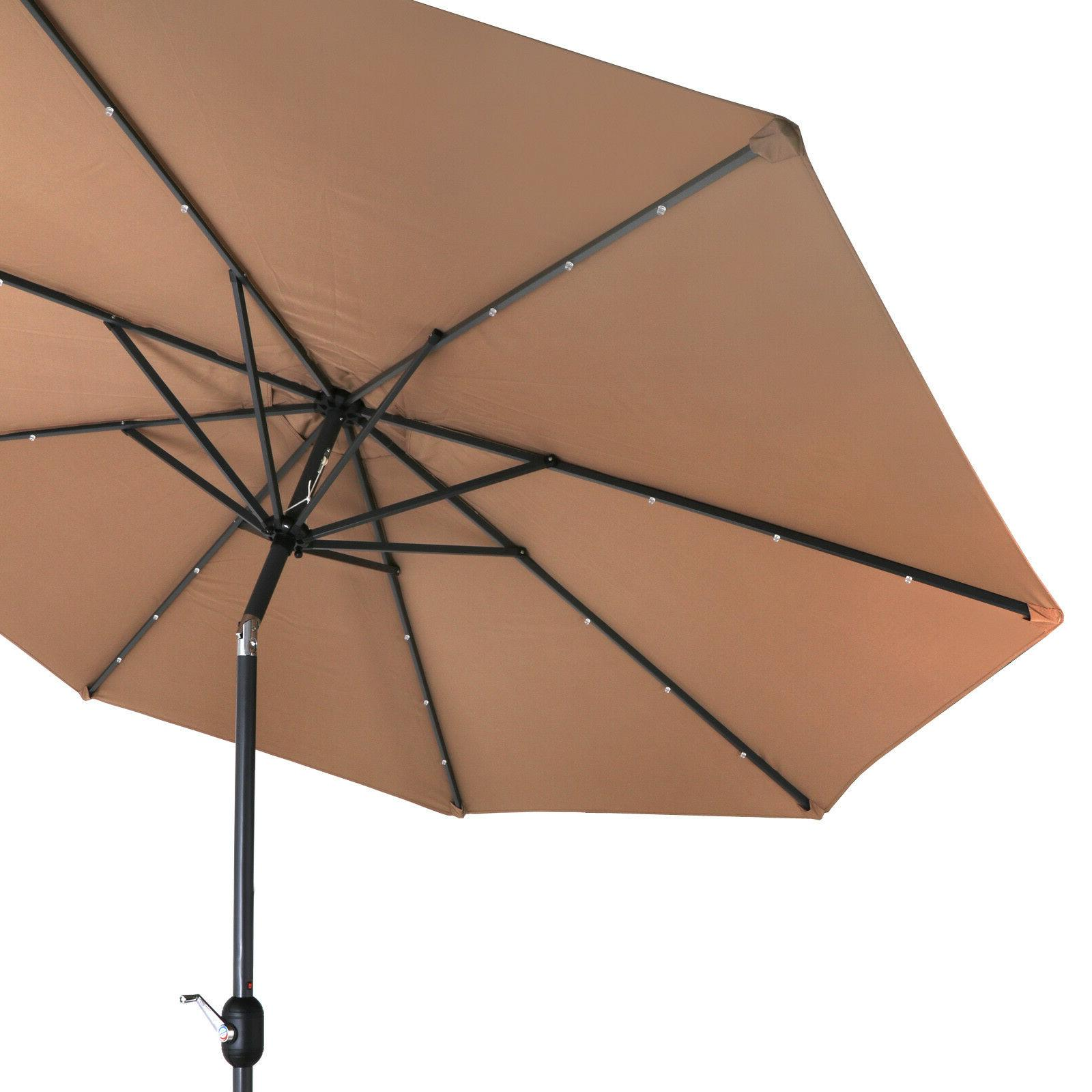 Umbrella LED Patio
