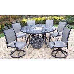 Oakland Living Mississippi Cascade 60 in. Swivel Sling Patio