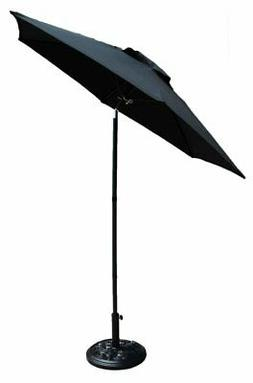 Shop4Omni Outdoor Patio Shade Umbrella with Tilt - 7 Foot Di