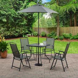 patio furniture set table and chairs umbrella