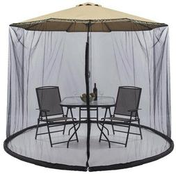 Best Choice Products Outdoor 9 Foot Patio Umbrella Screen -