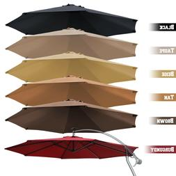 Replacement Hanging Canopy 10ft 8rib Solar Cantilever Patio