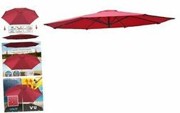 Umbrella Cover Canopy 13ft 8 Rib Patio Replacement Top Outdo